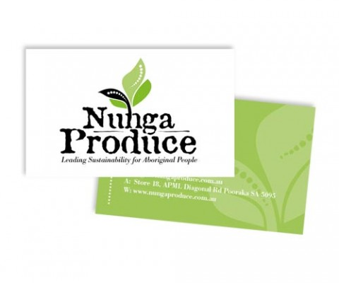 Matjarra / Nunga Produce business cards